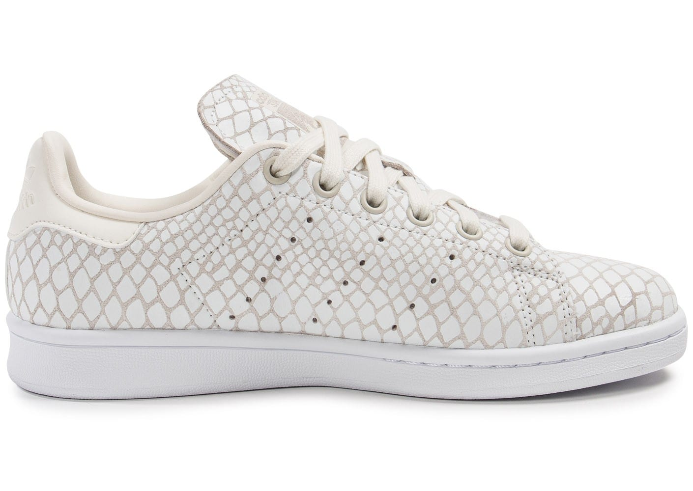 adidas stan smith snake blanche chaussures adidas chausport. Black Bedroom Furniture Sets. Home Design Ideas