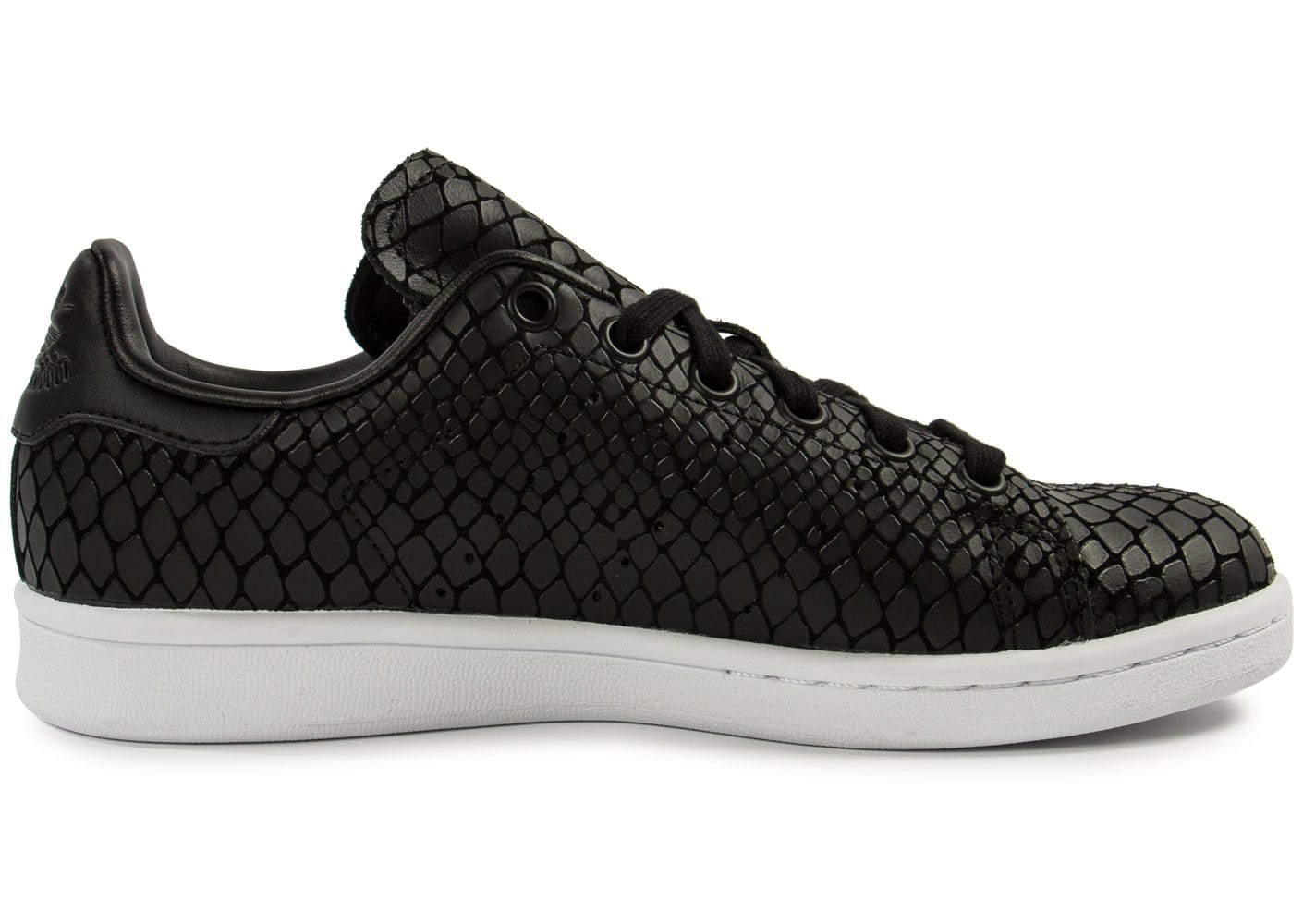 Chaussures adidas Stan Smith Snake noire vue dessous