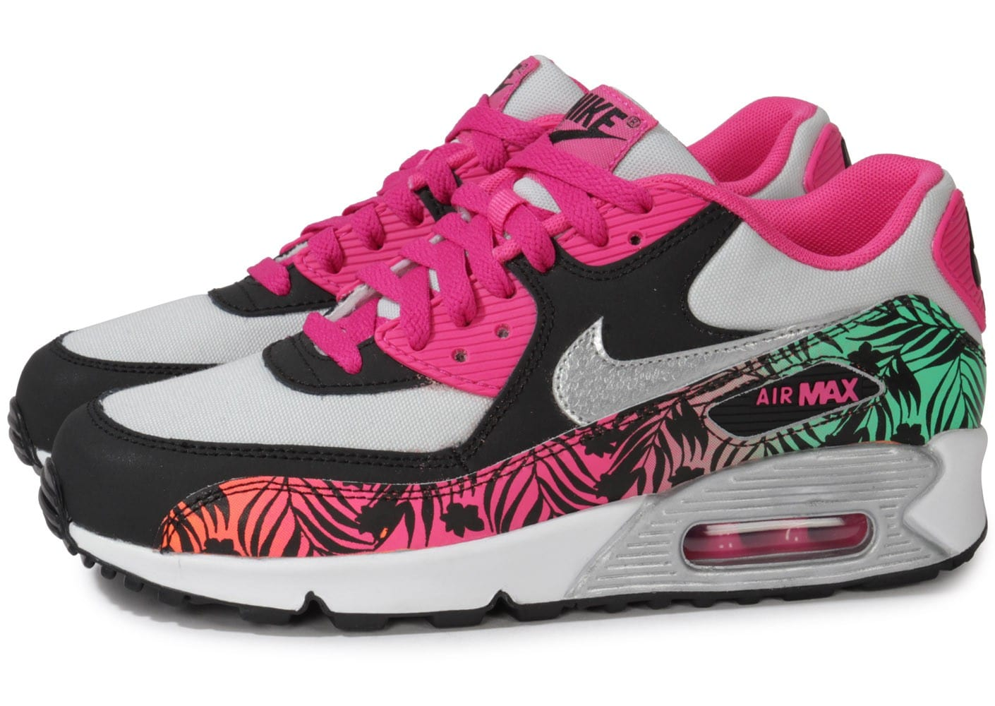 nike air max 90 junior print chaussures chaussures chausport. Black Bedroom Furniture Sets. Home Design Ideas