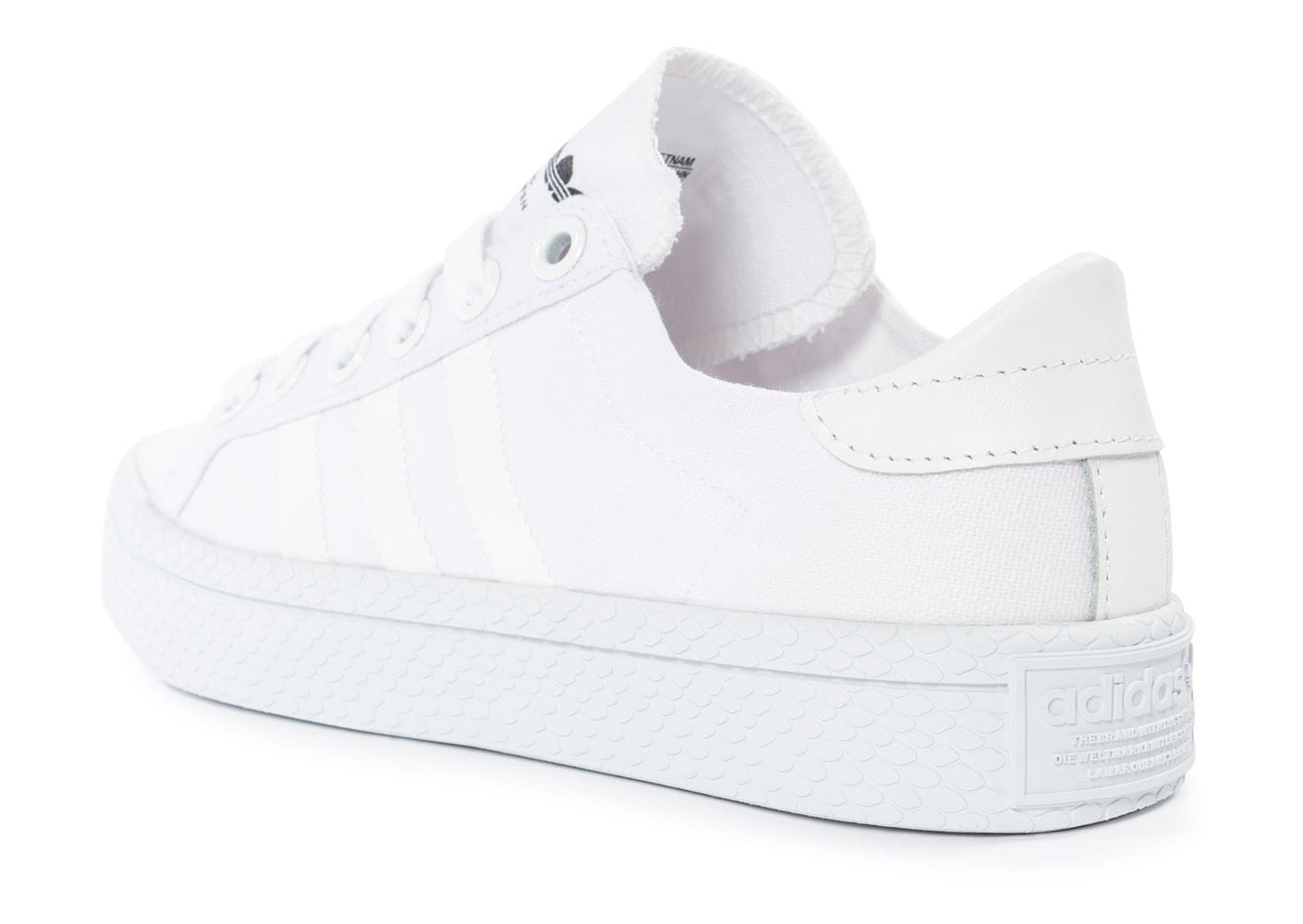 adidas chaussures blanches