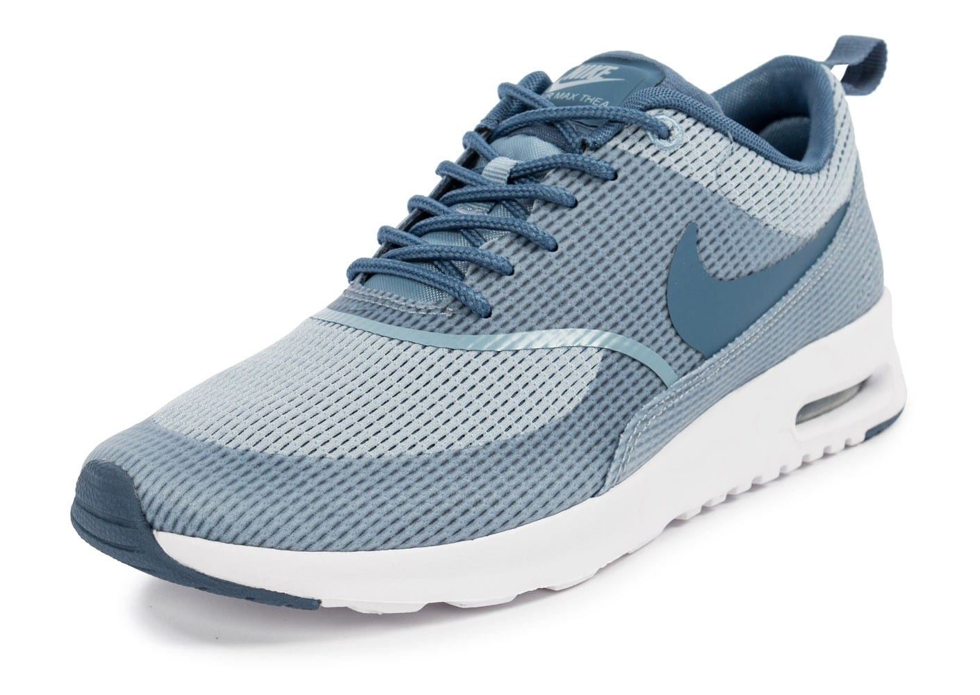 nike air max thea txt blue grey chaussures chaussures chausport. Black Bedroom Furniture Sets. Home Design Ideas