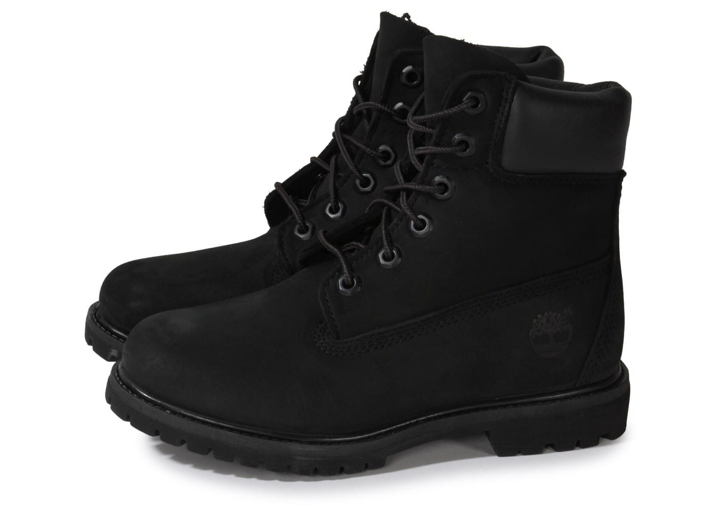 timberland 6 inch premium waterproof noire chaussures femme chausport. Black Bedroom Furniture Sets. Home Design Ideas