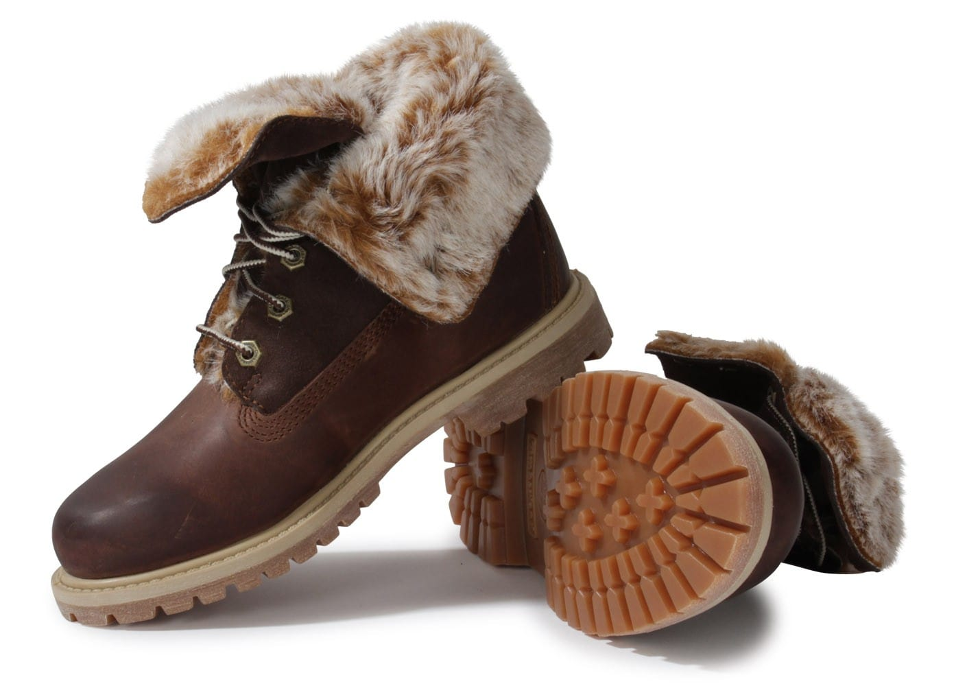 timberland boot authentics fourr e marron chaussures chaussures chausport. Black Bedroom Furniture Sets. Home Design Ideas