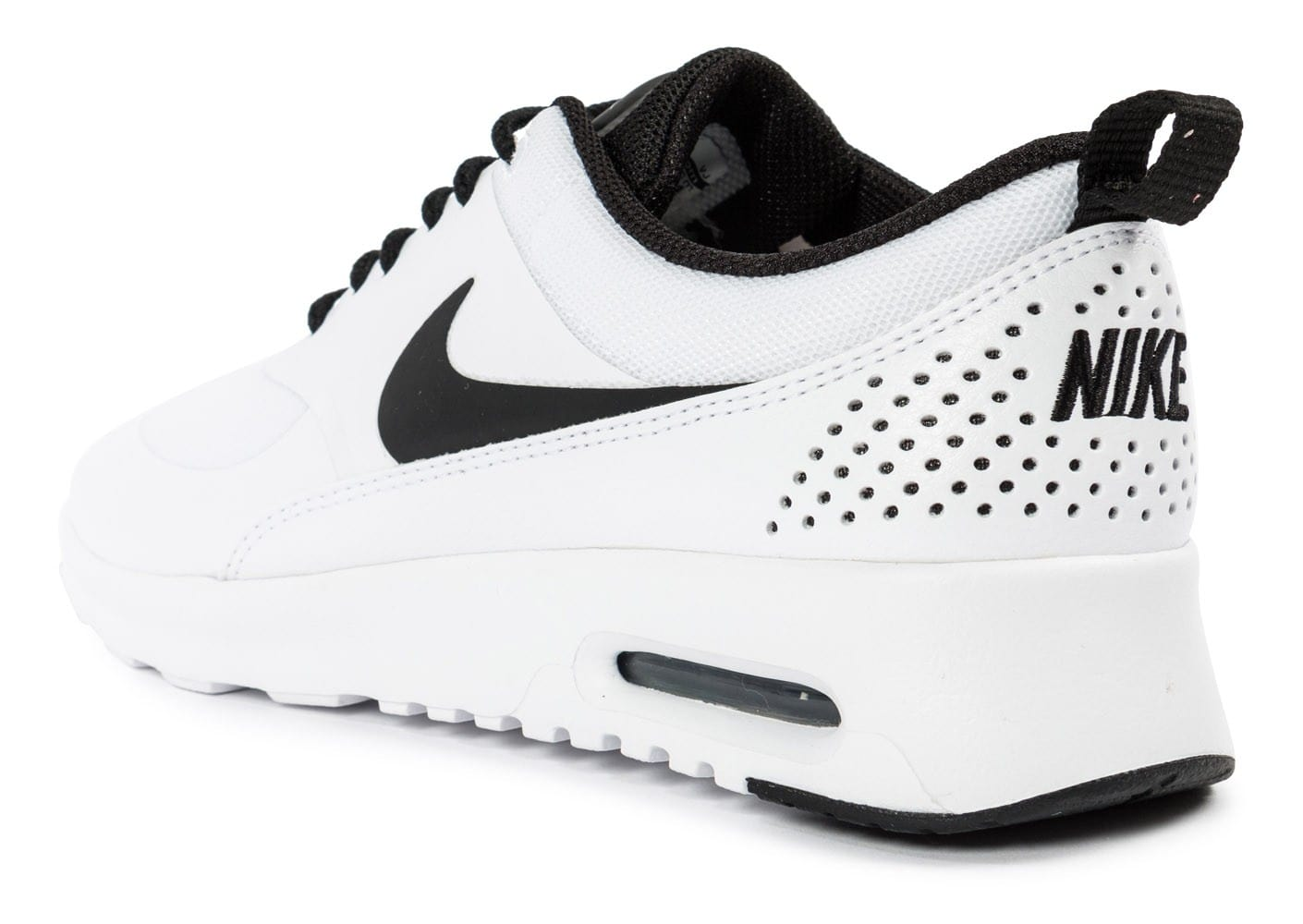... chaussures nike air max thea blanche vue arriere