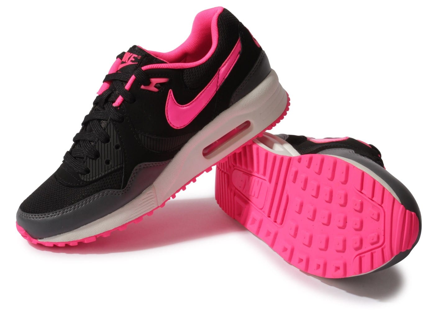 nike air max light noire et rose chaussures chaussures
