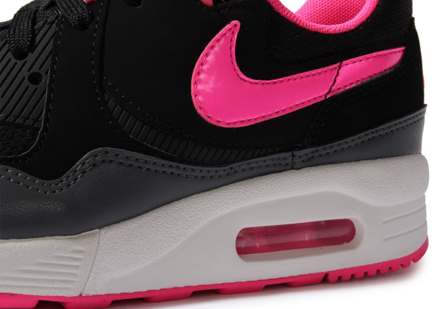 nike air max light noire et rose chaussures chaussures chausport. Black Bedroom Furniture Sets. Home Design Ideas