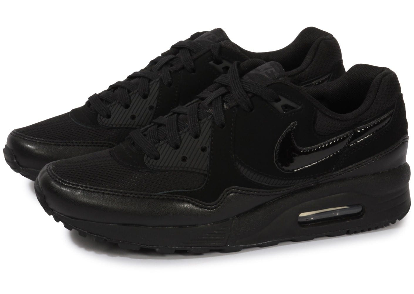 nike air max light noire chaussures chaussures chausport. Black Bedroom Furniture Sets. Home Design Ideas