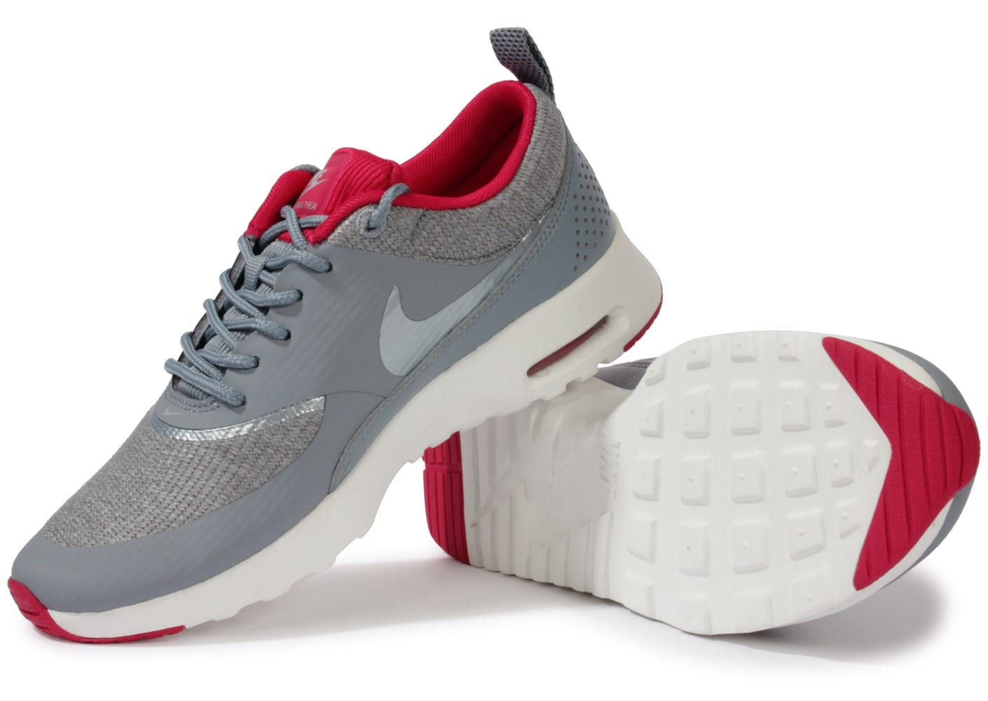 best sneakers 2d121 6c03f ... chaussures nike air max thea grise vue dessous semelle
