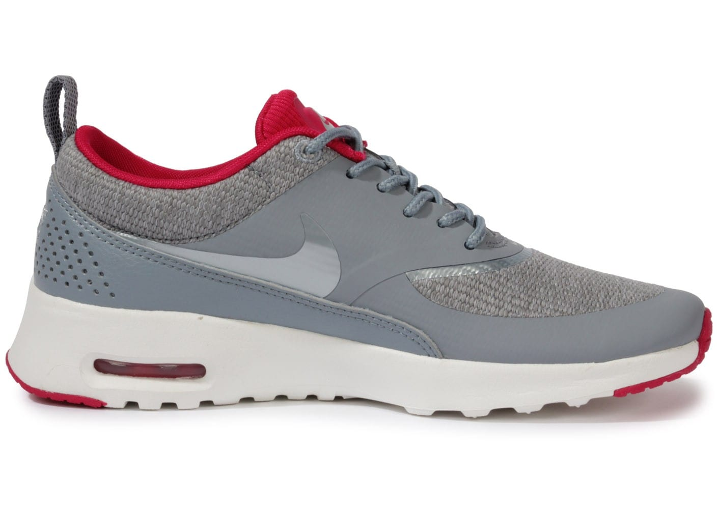 best wholesaler d48ae 60274 ... chaussures nike air max thea grise vue interieure