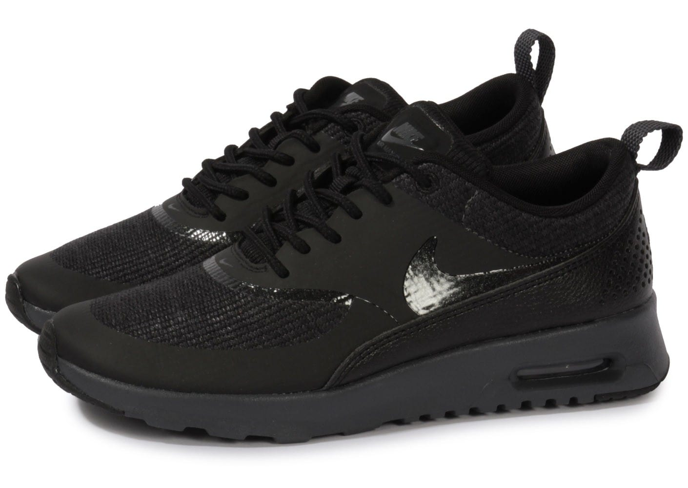 nike air max thea noir anthracite chaussures chaussures chausport. Black Bedroom Furniture Sets. Home Design Ideas