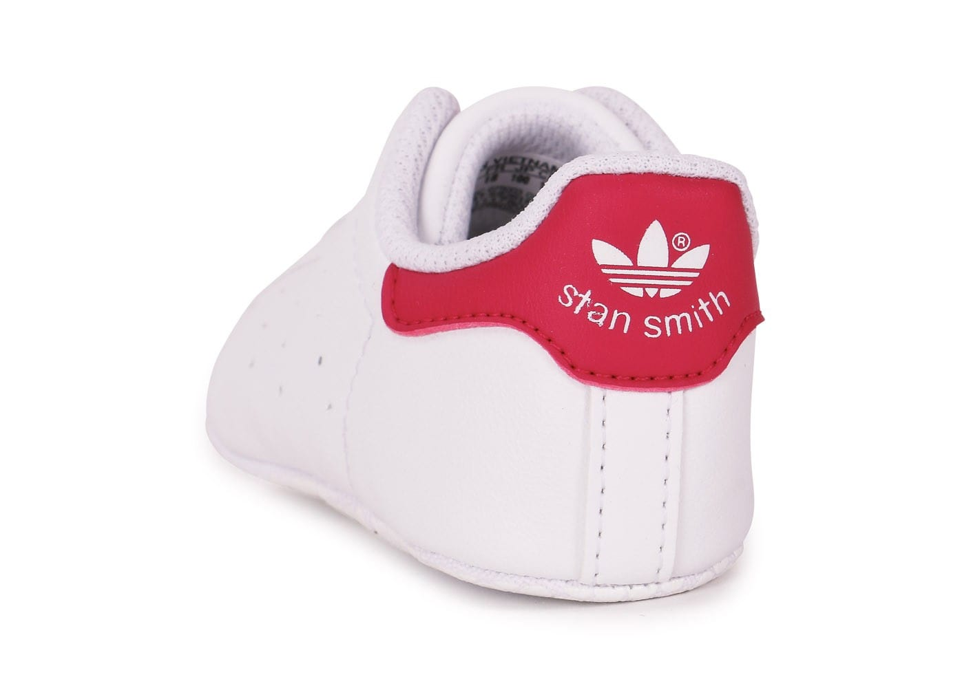 soldes adidas stan smith b b blanc rose chaussures adidas chausport. Black Bedroom Furniture Sets. Home Design Ideas
