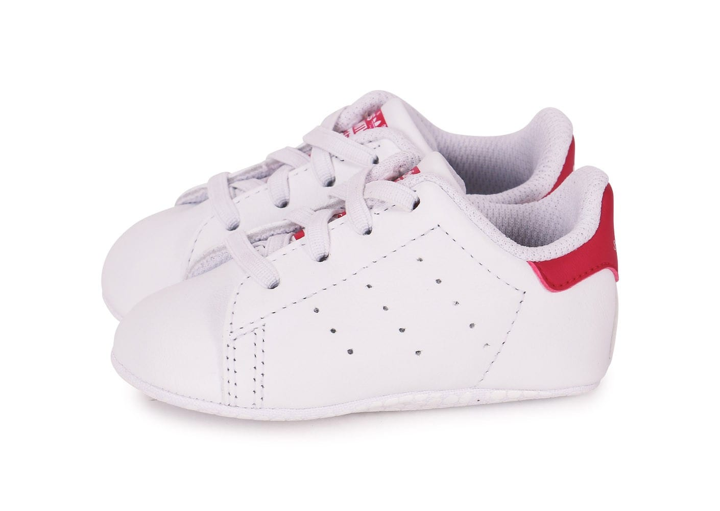 adidas stan smith b b blanc rose chaussures adidas chausport. Black Bedroom Furniture Sets. Home Design Ideas