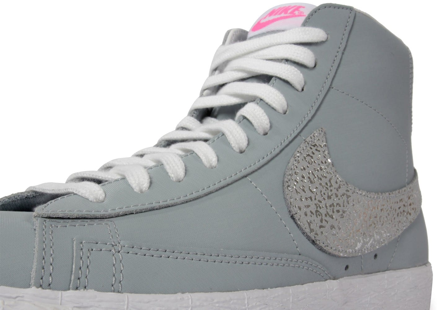 nike blazer grise glitter chaussures chaussures chausport. Black Bedroom Furniture Sets. Home Design Ideas