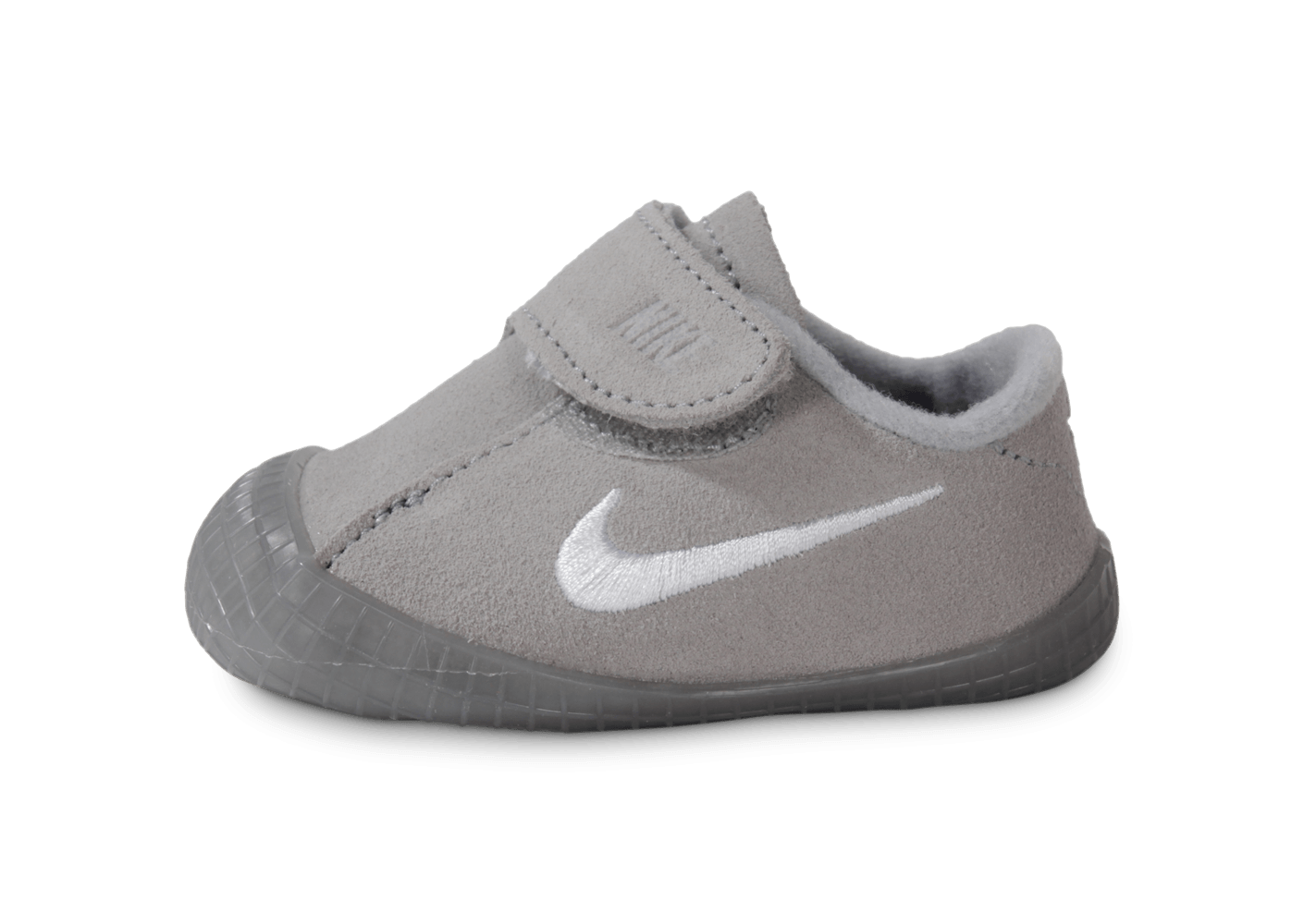 best service 405d0 629ab ... chaussures nike waffle 1 bebe crib grise vue exterieure