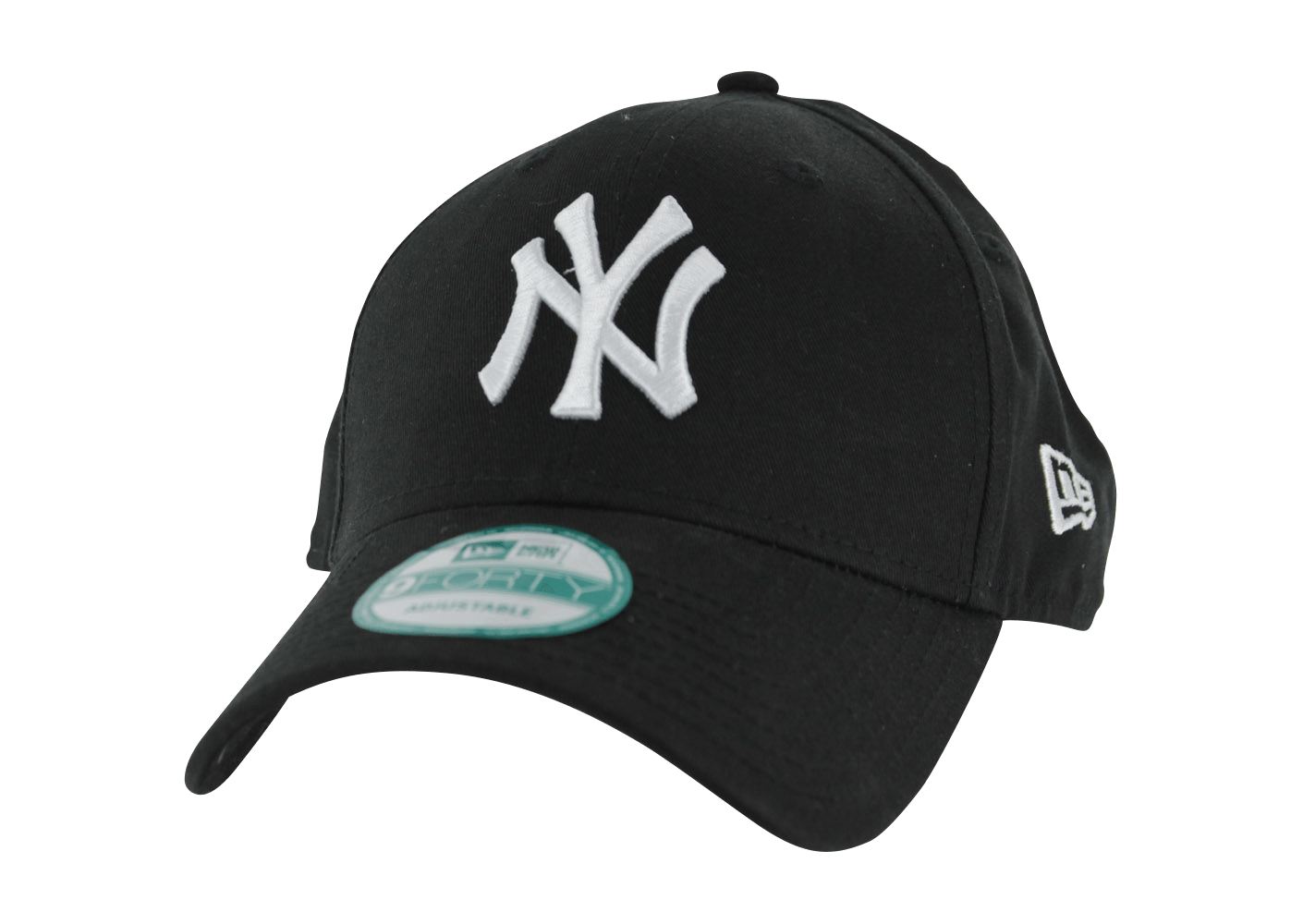new era casquette 9 40 mlb the league new york yankees noir et blanc casquettes chausport. Black Bedroom Furniture Sets. Home Design Ideas