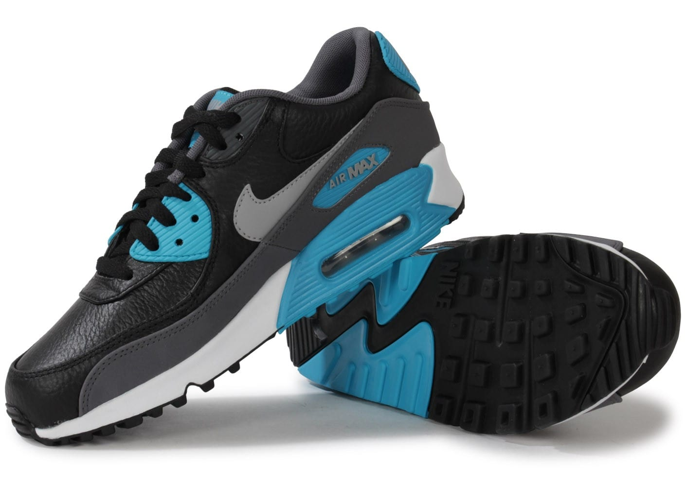 nike air max 90 ltr noire blue lagoon chaussures homme. Black Bedroom Furniture Sets. Home Design Ideas
