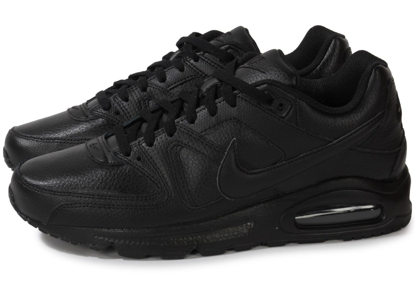 basket homme nike air max command leather noire