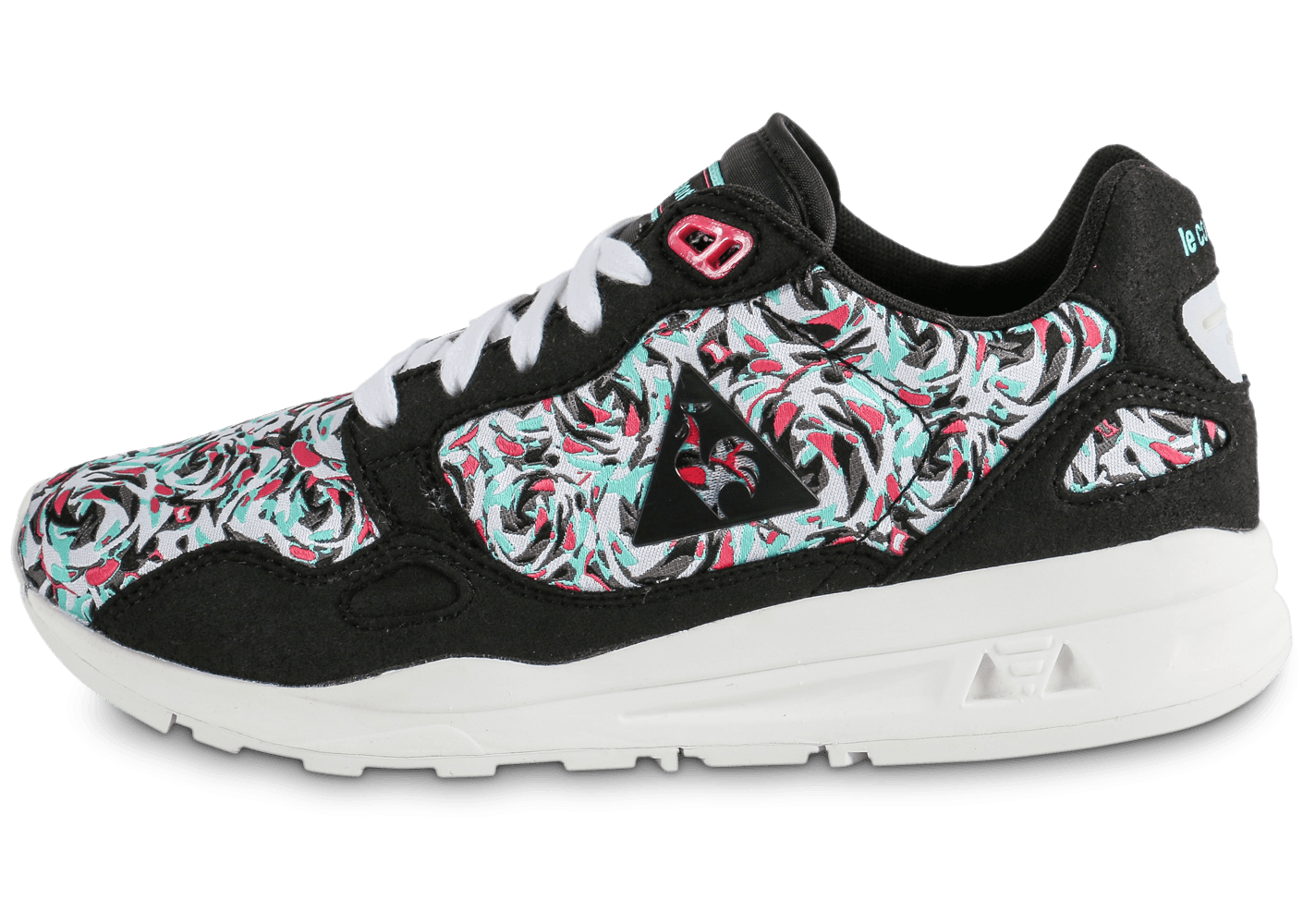 le coq sportif lcs r900 flower jacquard chaussures chaussures chausport. Black Bedroom Furniture Sets. Home Design Ideas
