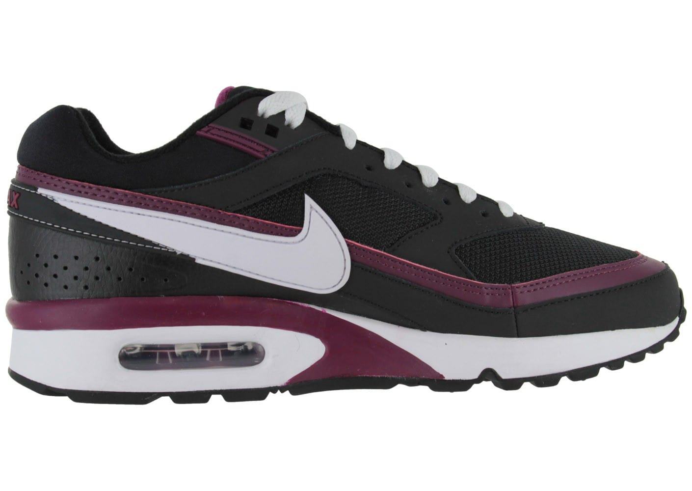 nike air max classic bw noire textile chaussures homme. Black Bedroom Furniture Sets. Home Design Ideas