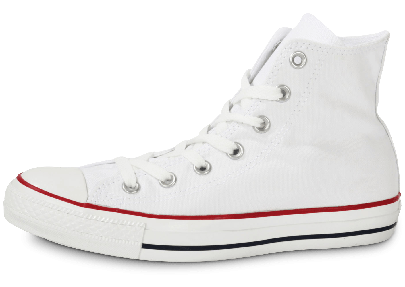 converse chuck taylor all star hi blanche chaussures homme chausport. Black Bedroom Furniture Sets. Home Design Ideas