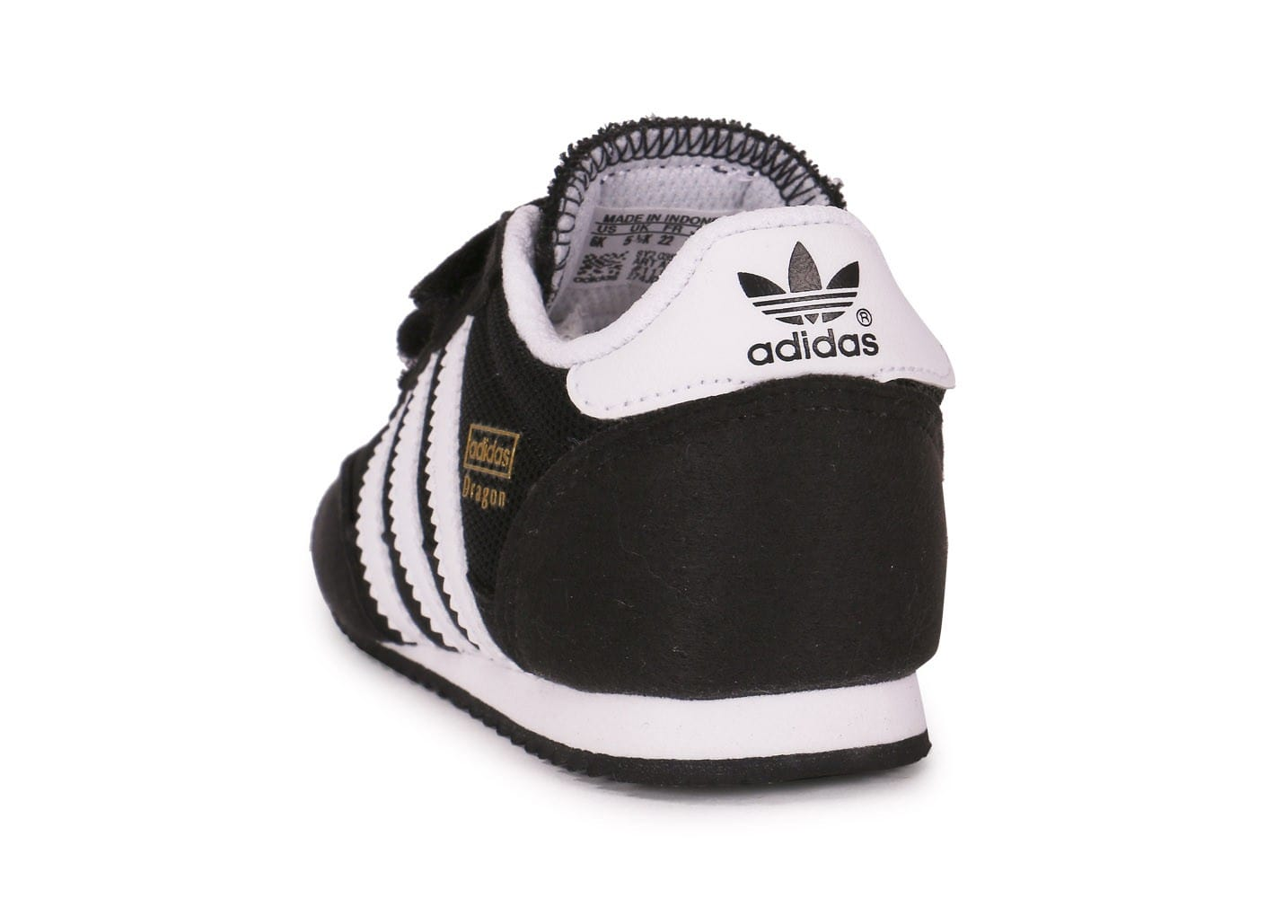 bf5b58908cdd5 ... chaussures adidas dragon bebe noire vue arriere