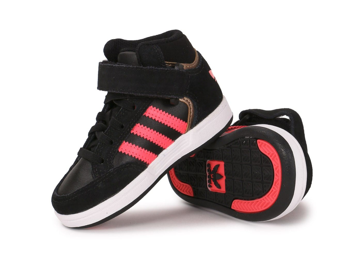 adidas varial mid b b noire rose chaussures adidas chausport. Black Bedroom Furniture Sets. Home Design Ideas
