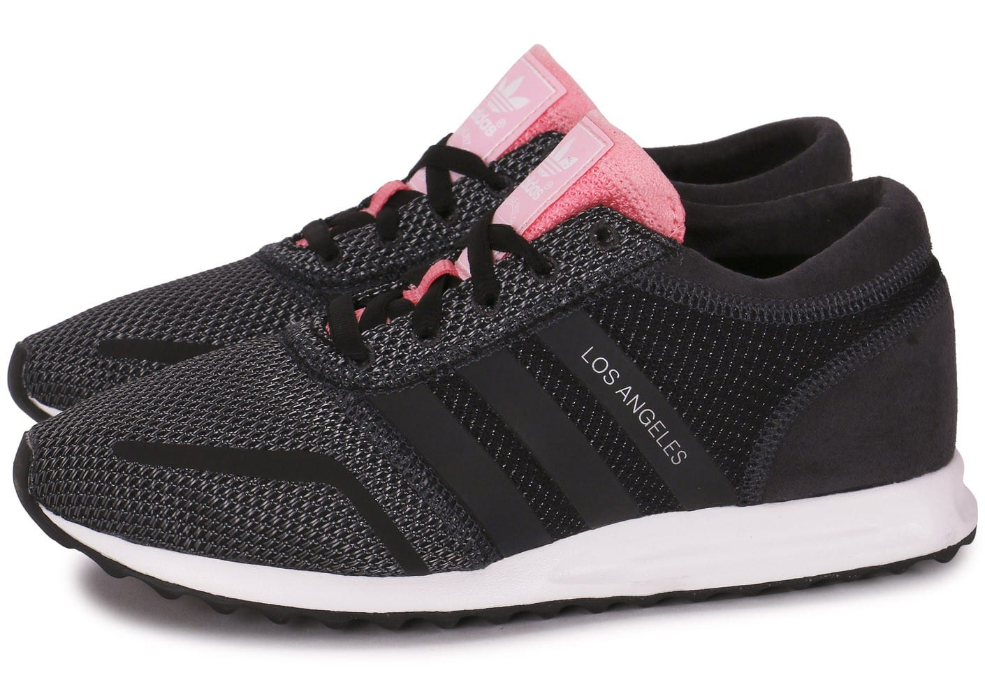 adidas los angeles noir et rose