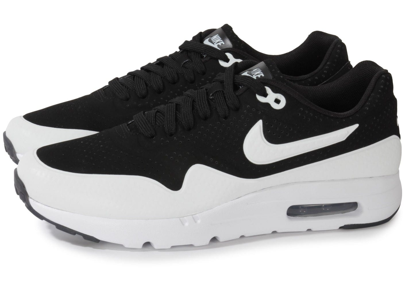 nike air max 1 ultra moire black silver white chaussures homme chausport. Black Bedroom Furniture Sets. Home Design Ideas