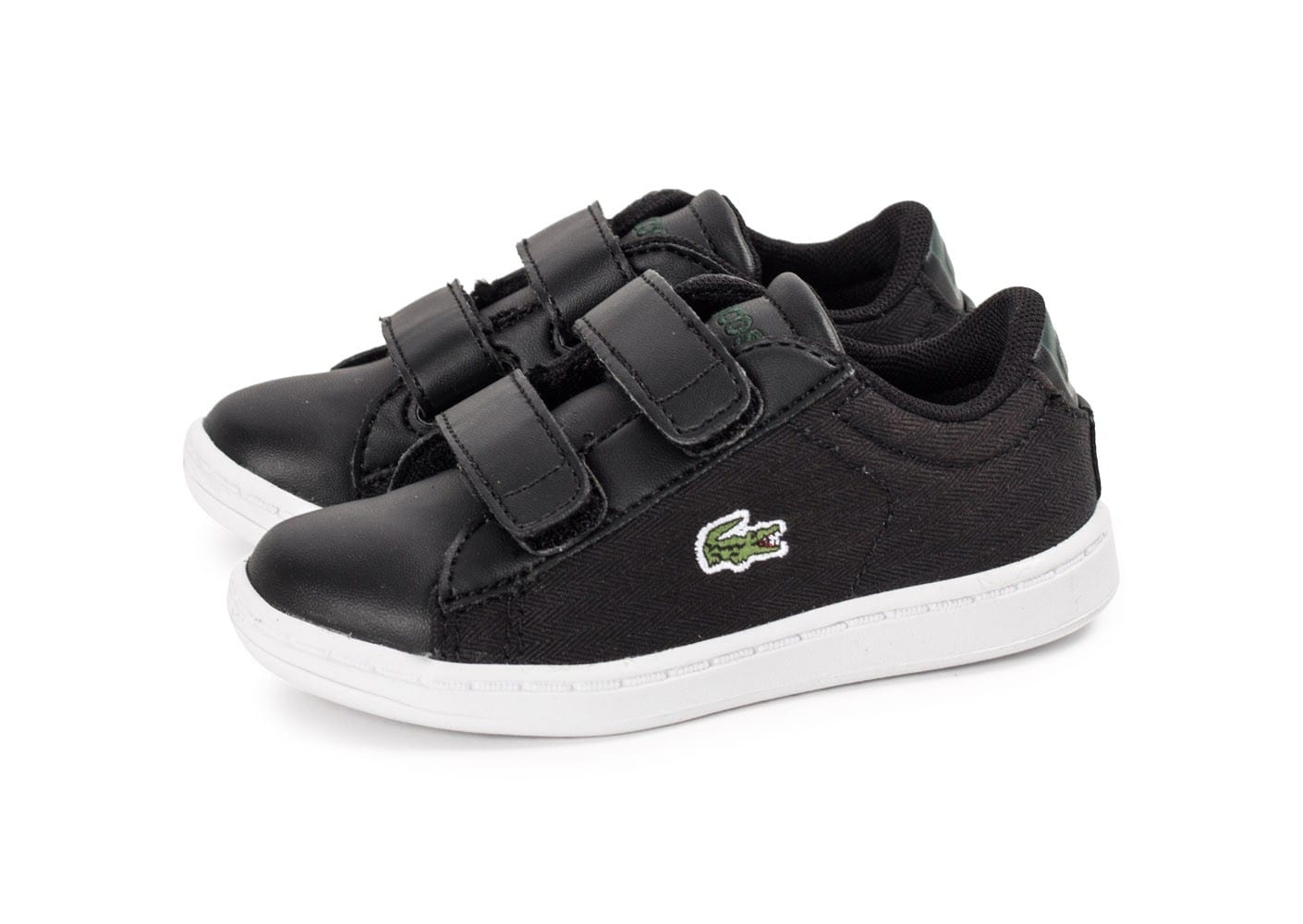 Lacoste carnaby evo b b noire chaussures toutes les - Lacoste carnaby evo cls baskets en cuir perfore ...