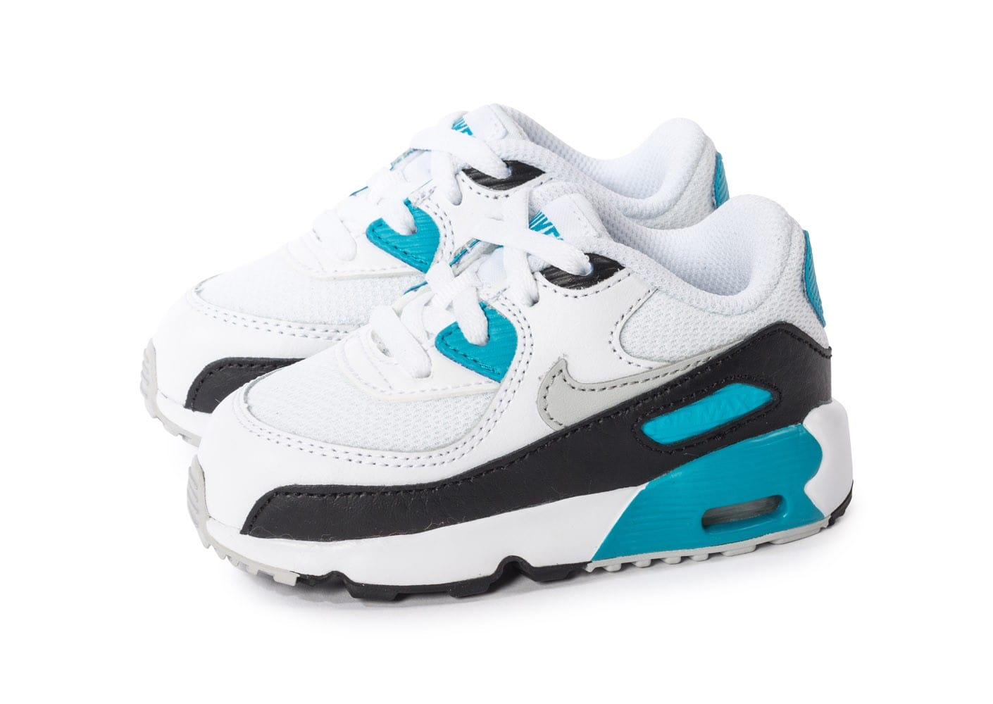 nike air max 90 mesh b b blanche et noire chaussures chaussures chausport. Black Bedroom Furniture Sets. Home Design Ideas