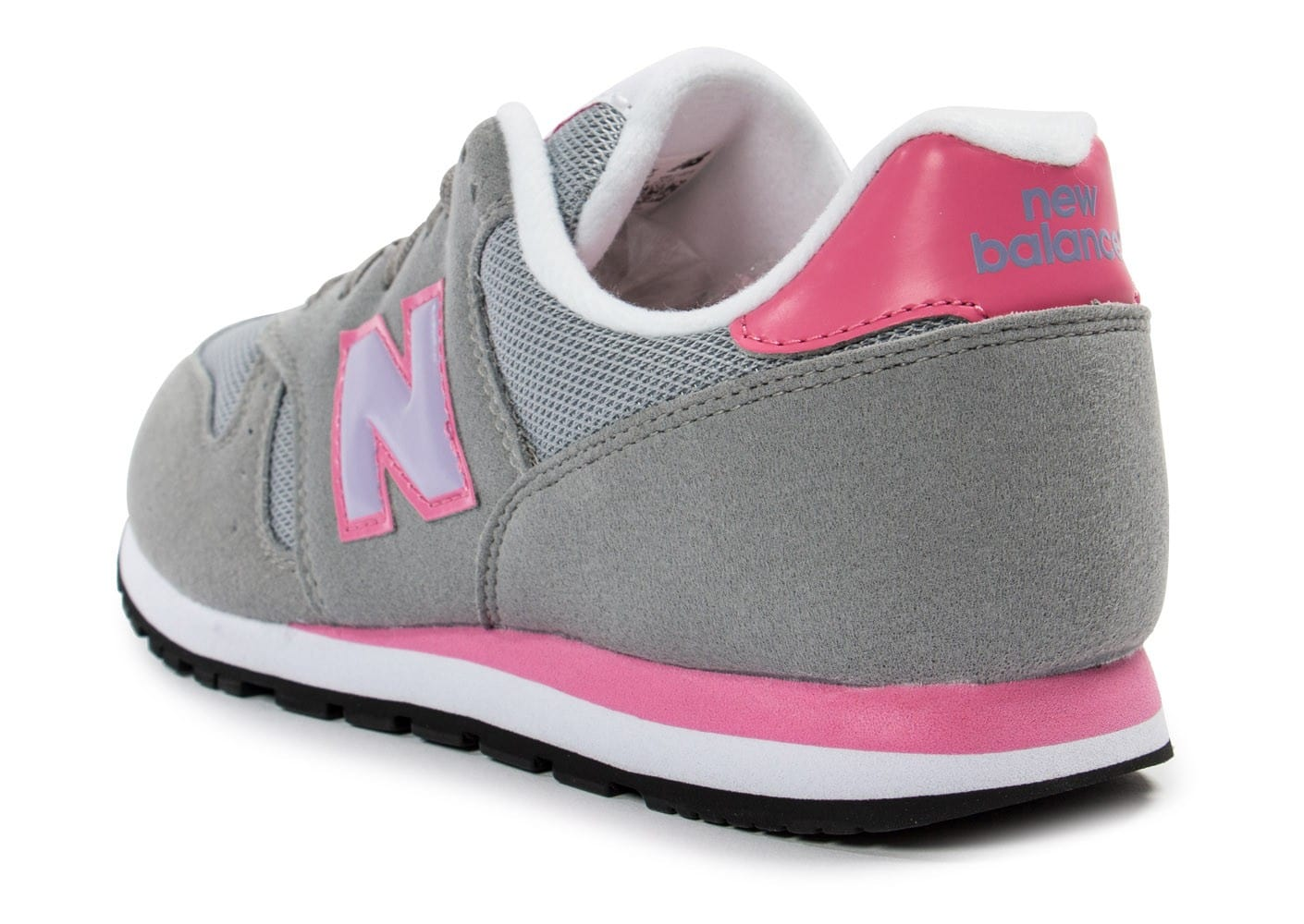 new balance kj373 junior grise chaussures chaussures chausport. Black Bedroom Furniture Sets. Home Design Ideas