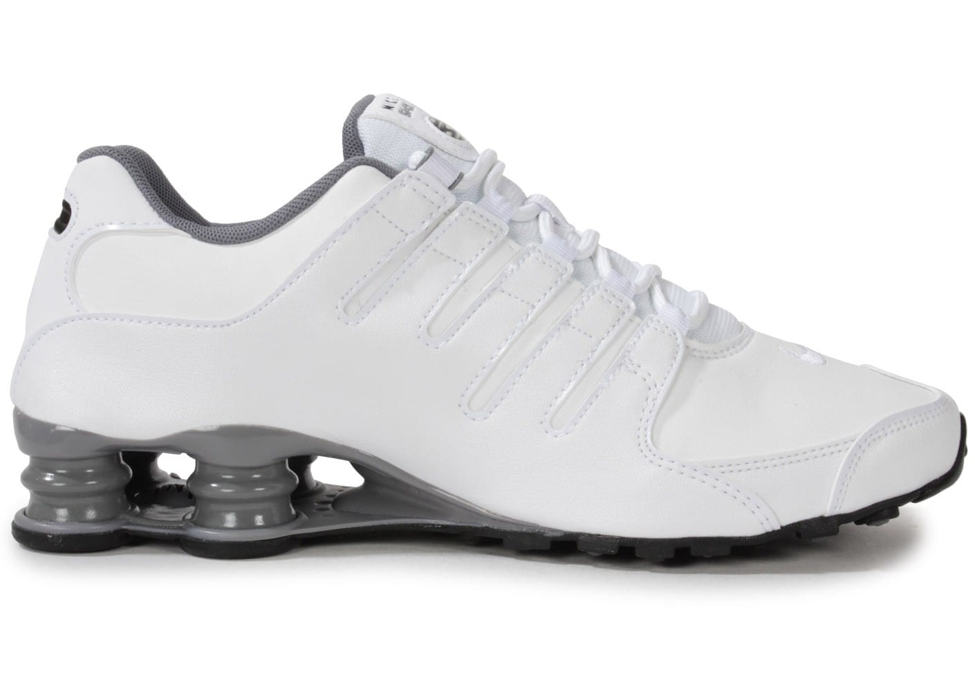 nike shox nz blanche chaussures homme chausport. Black Bedroom Furniture Sets. Home Design Ideas