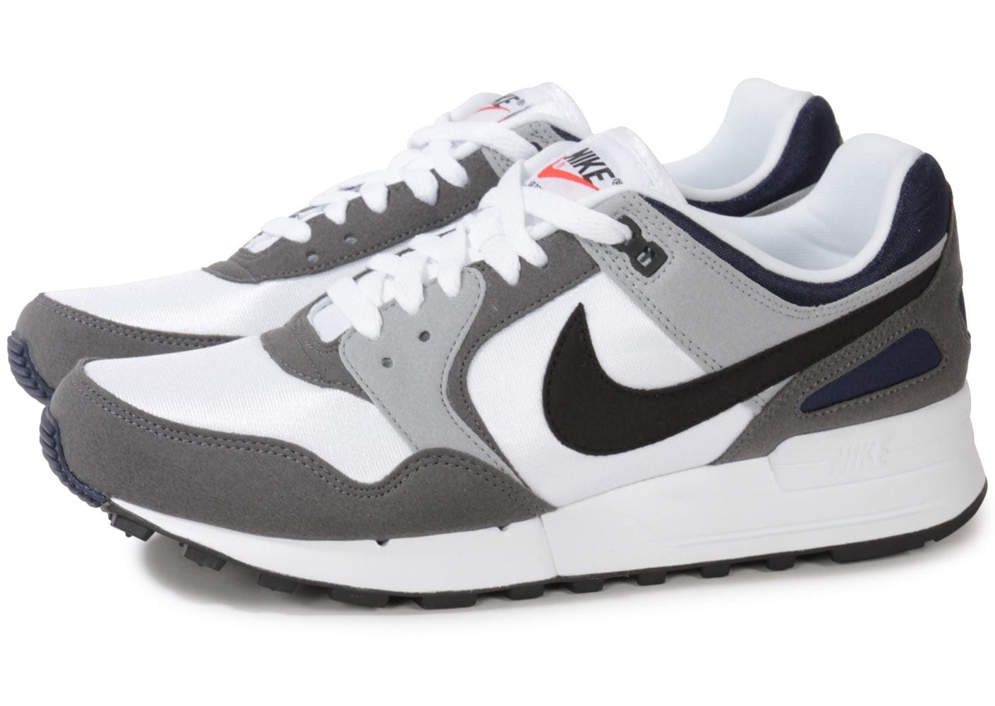 nike air pegasus 89 grise blanche chaussures homme chausport. Black Bedroom Furniture Sets. Home Design Ideas