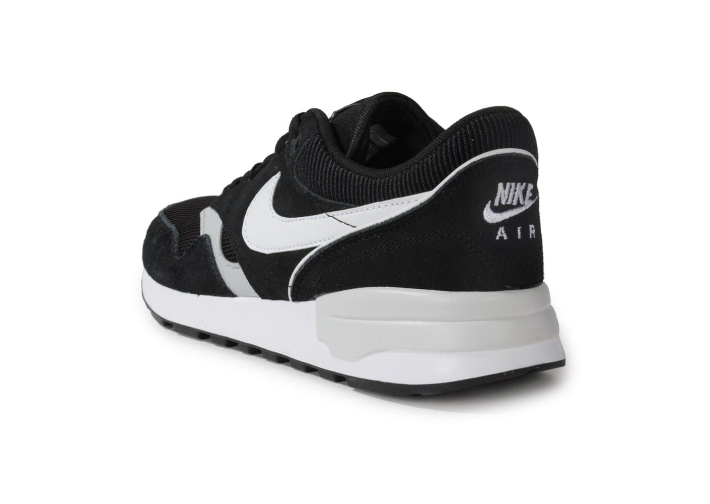 nike air odyssey noire blanche chaussures homme chausport. Black Bedroom Furniture Sets. Home Design Ideas