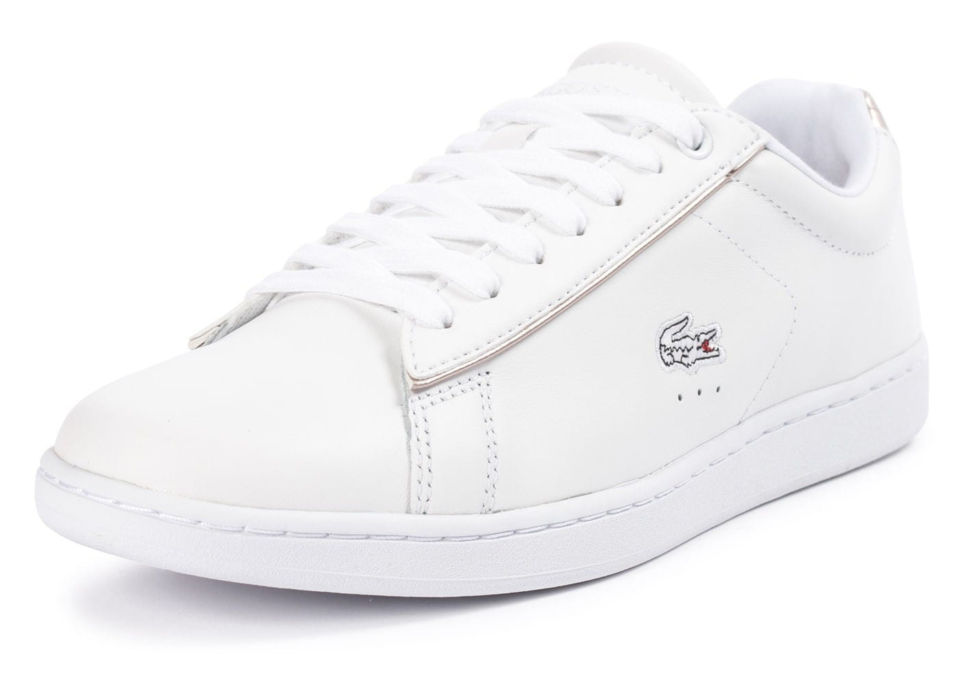 Soldes lacoste carnaby evo blanche chaussures toutes les - Lacoste carnaby evo cls baskets en cuir perfore ...