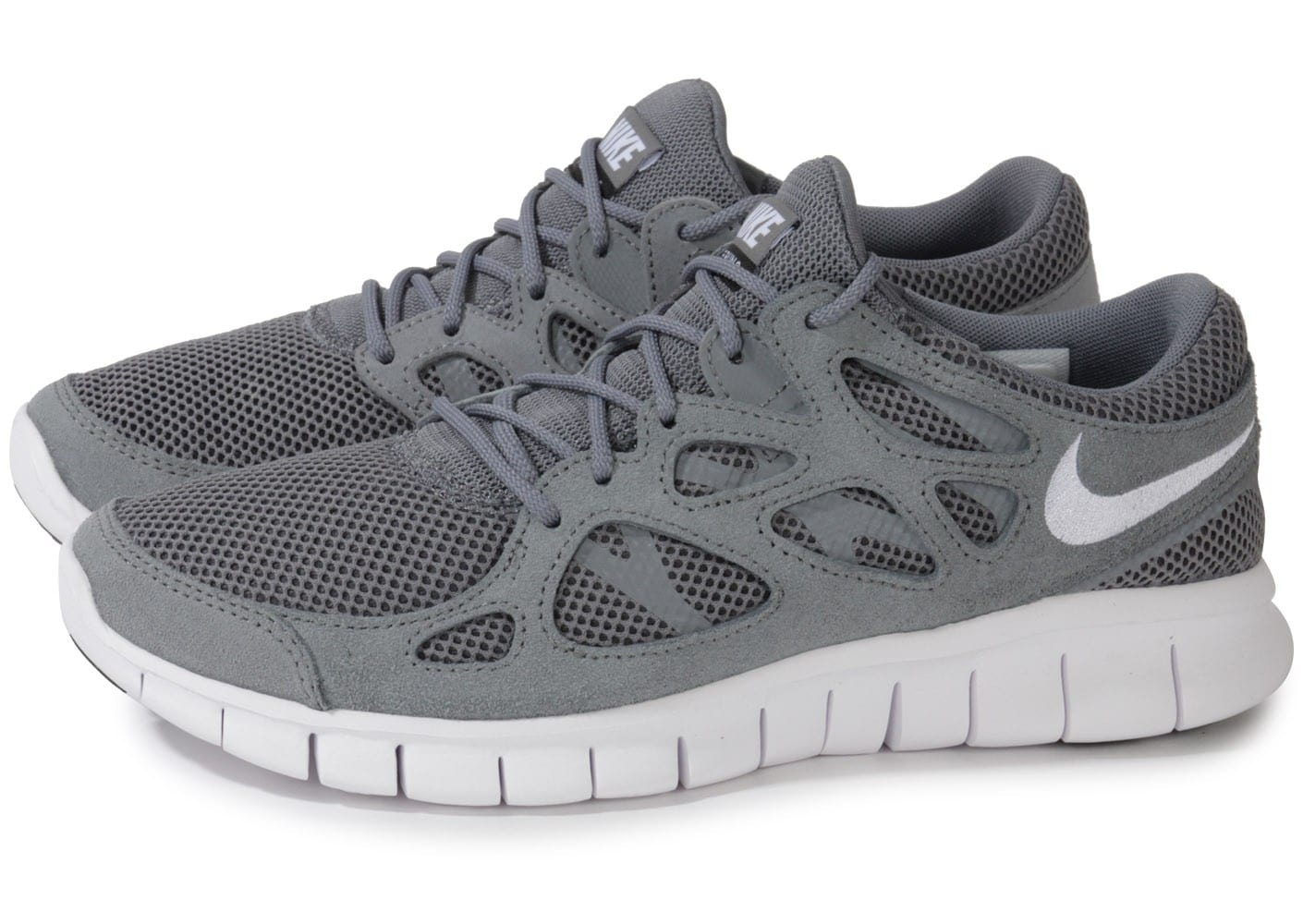 nike free run 2 grise chaussures homme chausport. Black Bedroom Furniture Sets. Home Design Ideas
