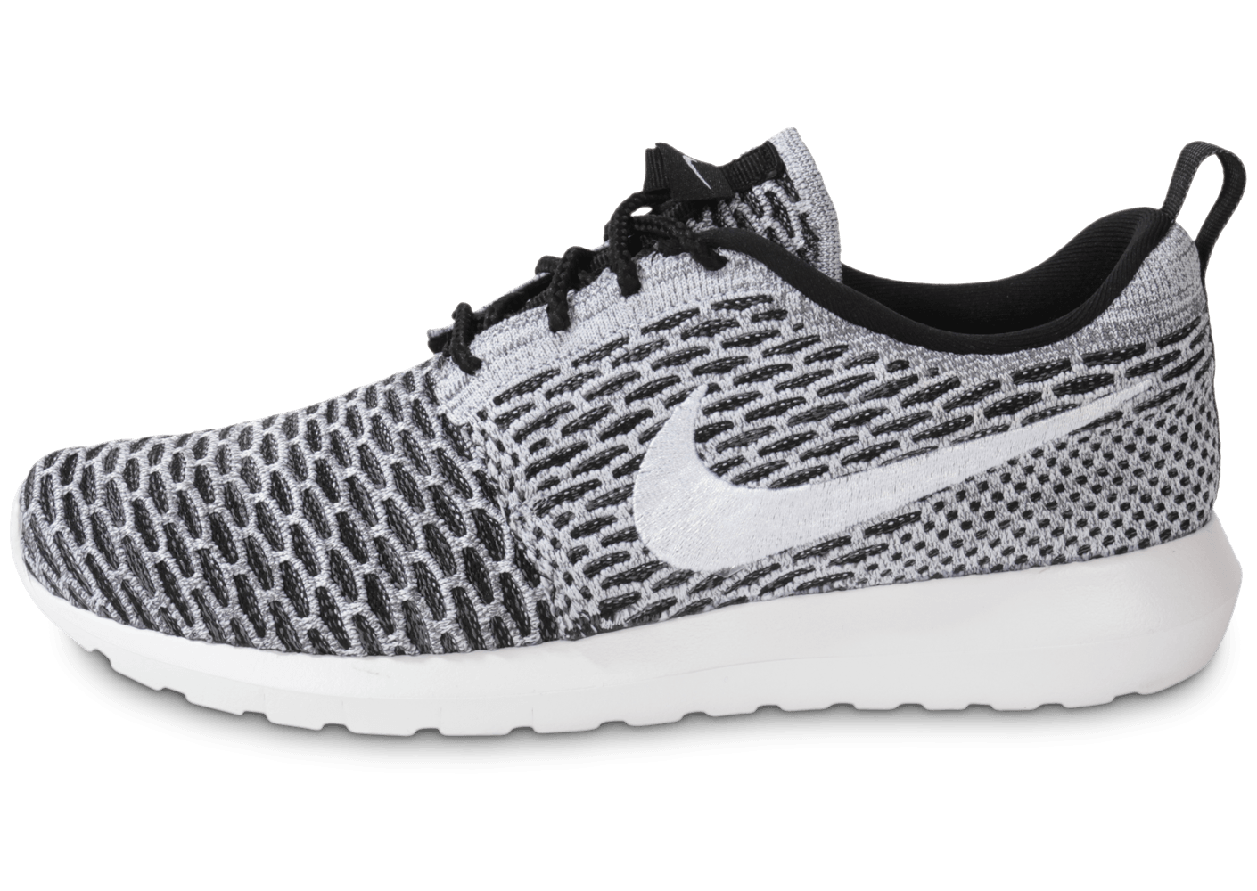 Nike ROSHE RUN FLYKNIT NOIRE - Chaussures Homme - Chausport