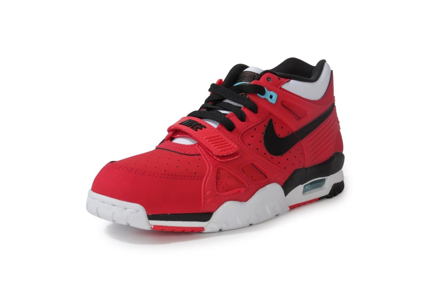 low priced 1c64e 1dc44 chaussures nike air trainer 3 rouge vue avant l