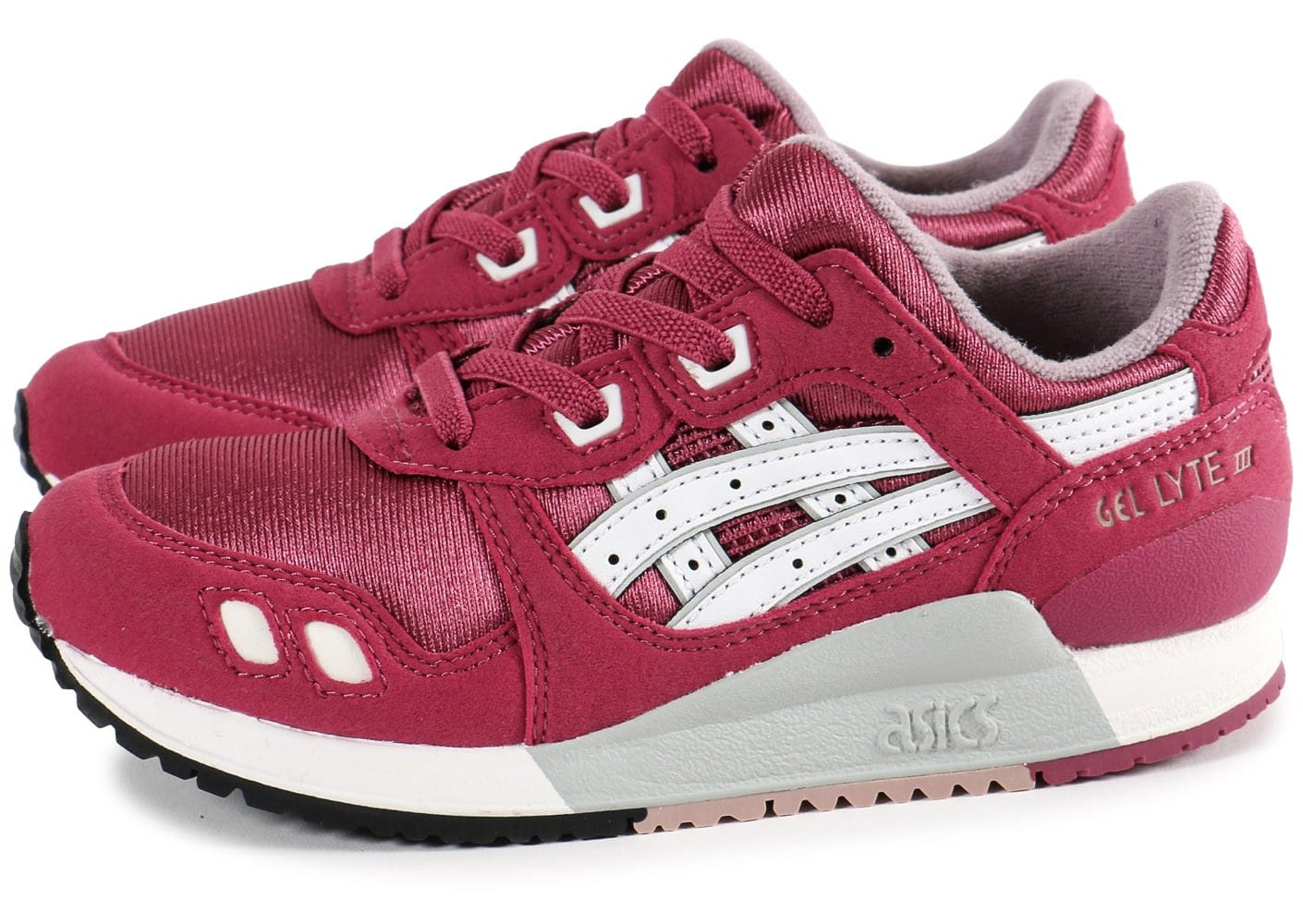 asics gel lyte 3 enfant rose chaussures chaussures chausport. Black Bedroom Furniture Sets. Home Design Ideas