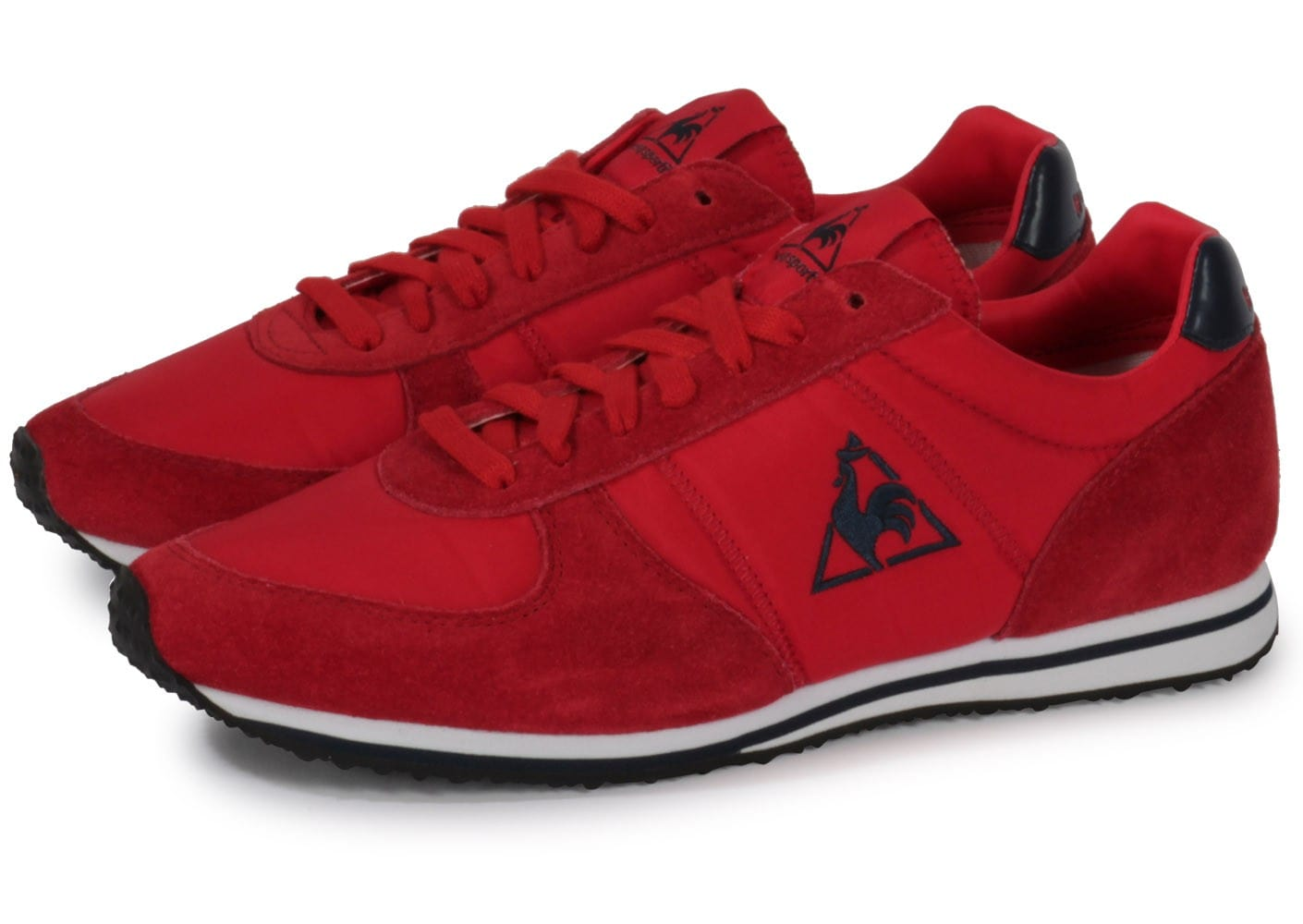 le coq sportif bolivar rouge chaussures chaussures chausport. Black Bedroom Furniture Sets. Home Design Ideas