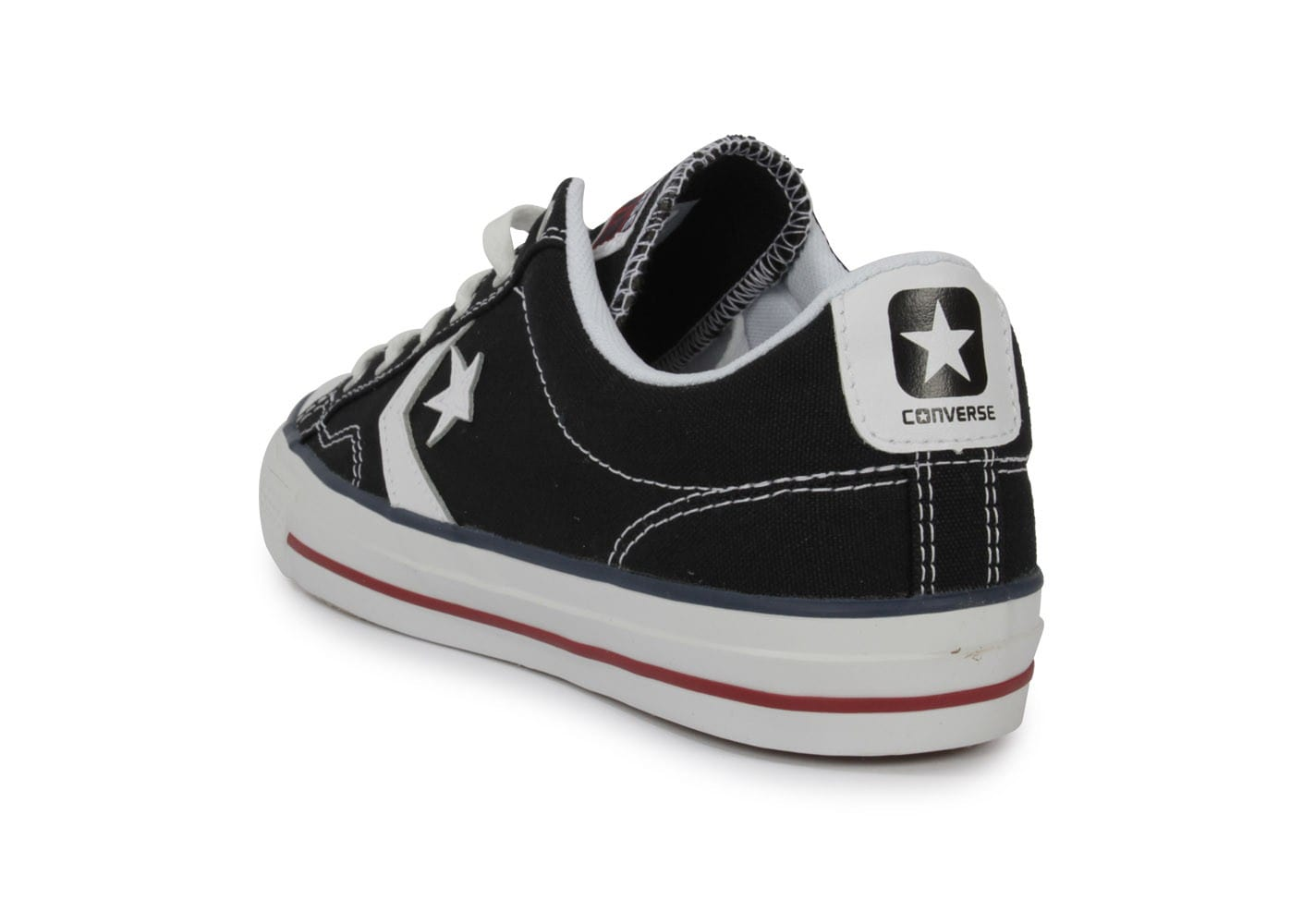 converse star player noire chaussures homme chausport. Black Bedroom Furniture Sets. Home Design Ideas