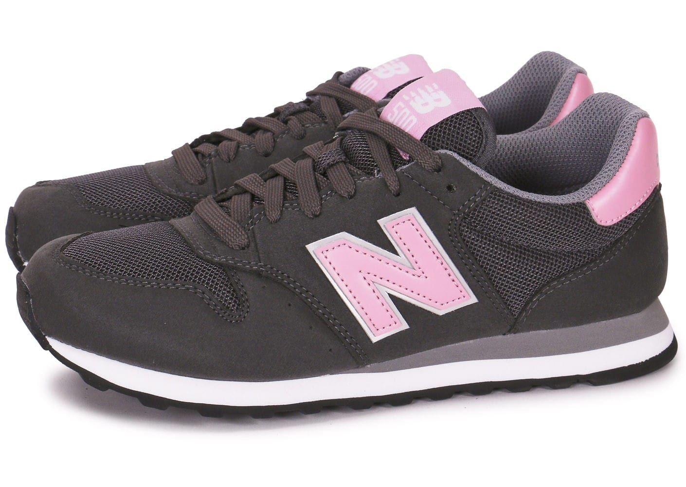 new balance w500 grise et rose chaussures chaussures chausport. Black Bedroom Furniture Sets. Home Design Ideas