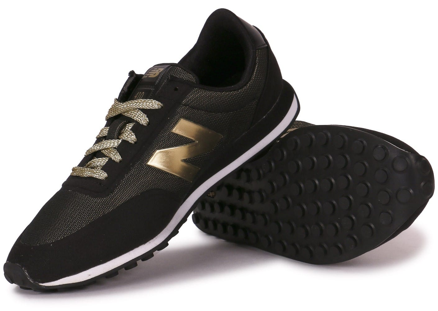 new balance wl410 noir et or