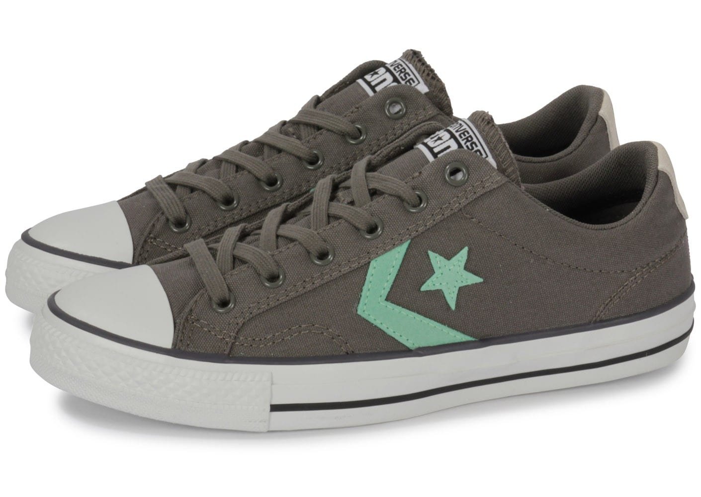 converse star player grise chaussures homme chausport. Black Bedroom Furniture Sets. Home Design Ideas