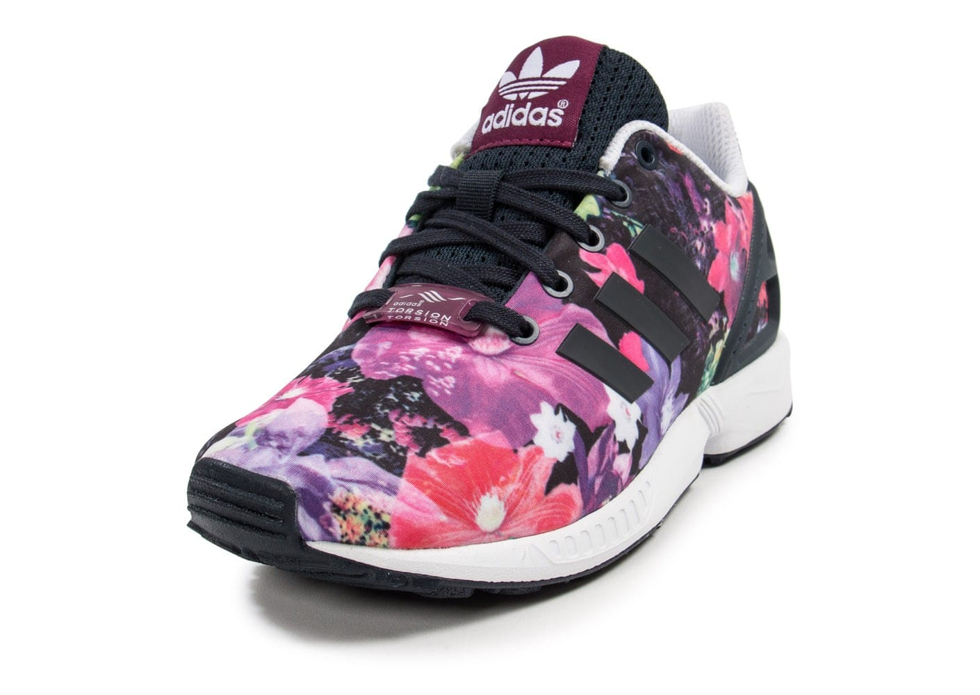 adidas zx flux enfant floral - chaussures adidas