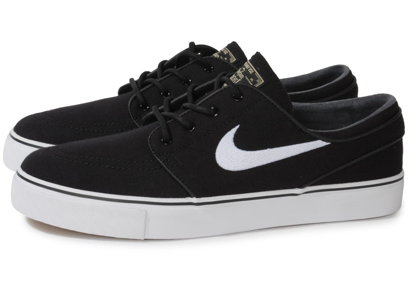 nike zoom stefan janoski noire chaussures homme chausport. Black Bedroom Furniture Sets. Home Design Ideas