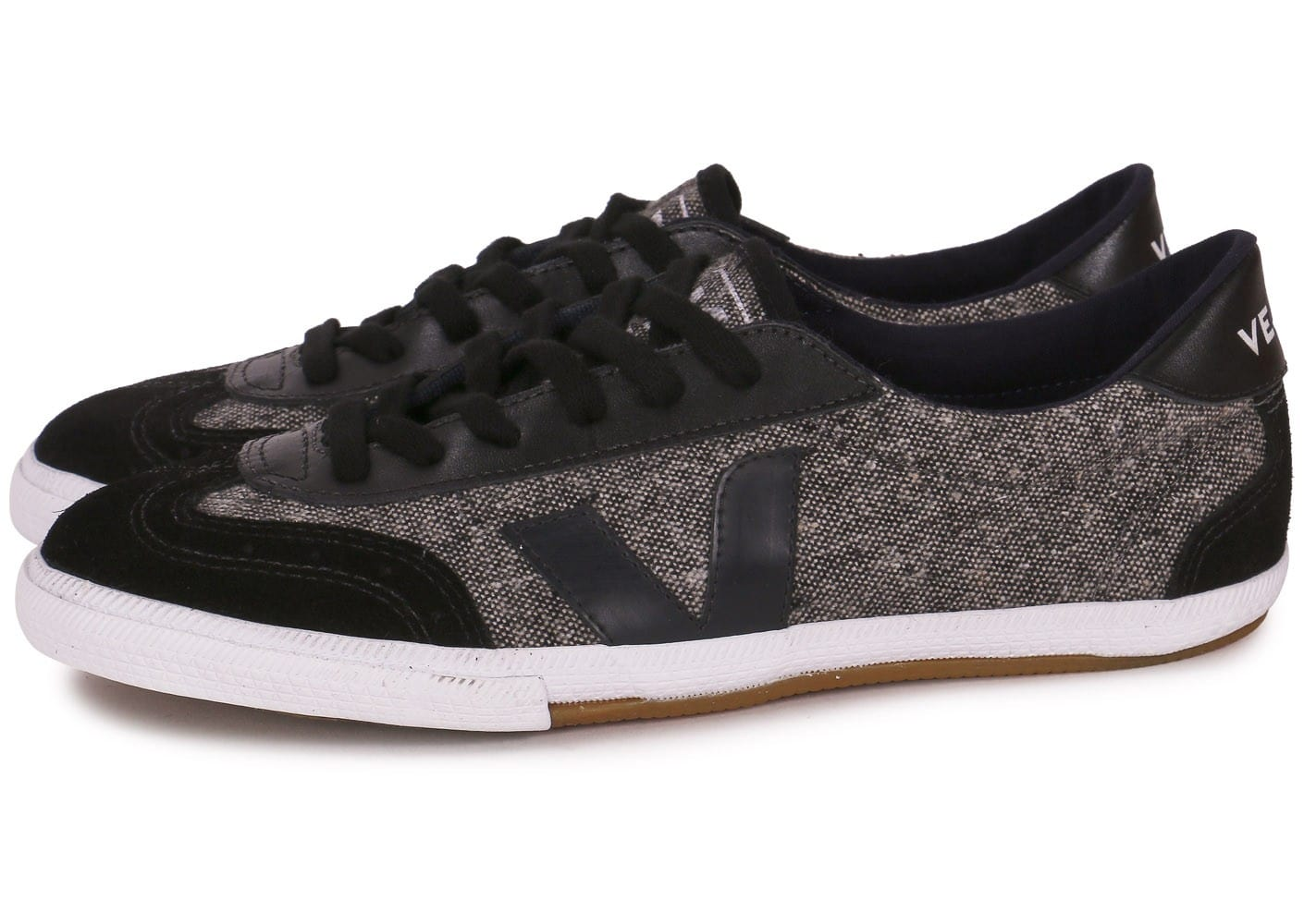veja volley noire chaussures homme chausport. Black Bedroom Furniture Sets. Home Design Ideas
