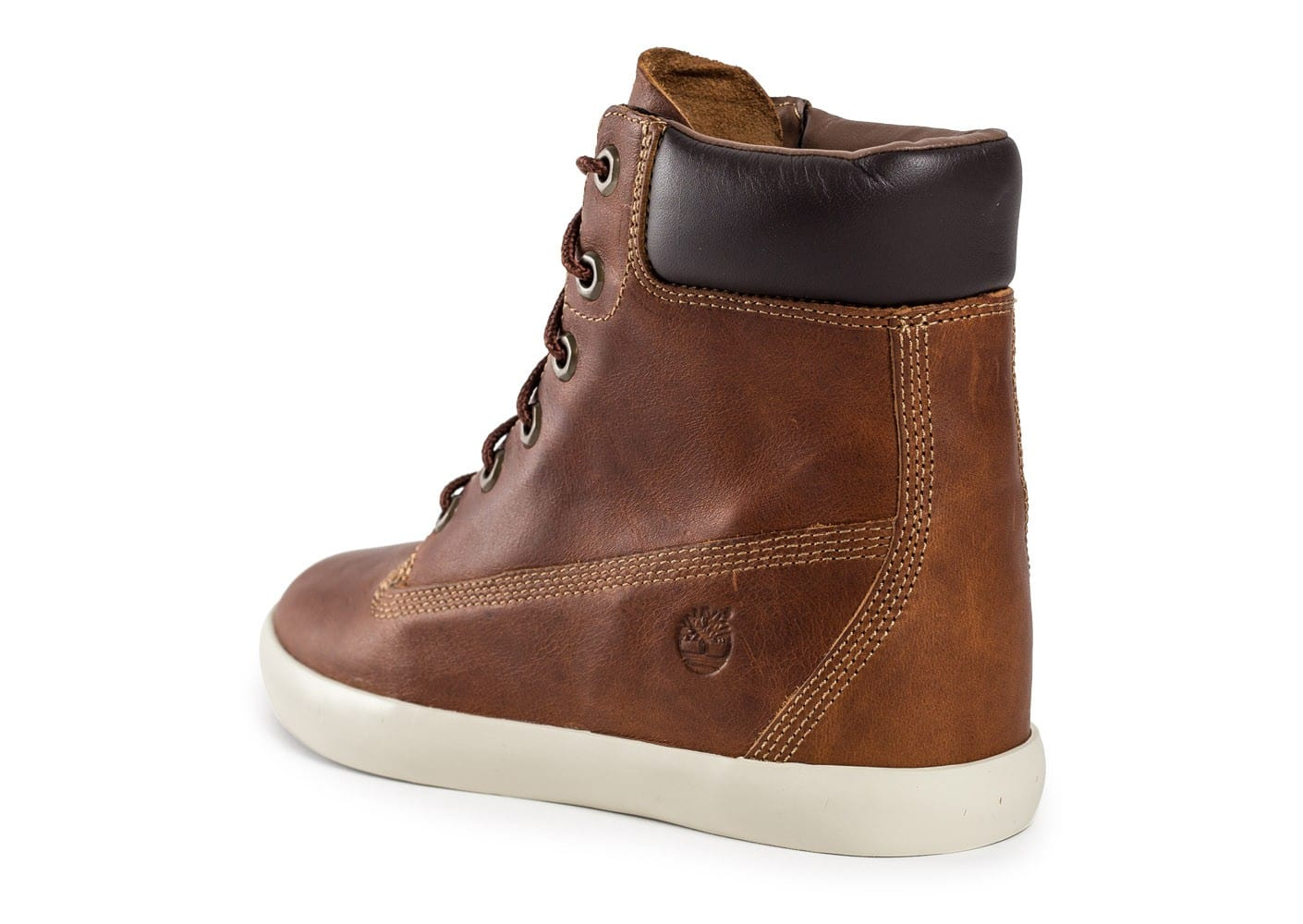 timberland flannery cuir marron chaussures chaussures chausport. Black Bedroom Furniture Sets. Home Design Ideas