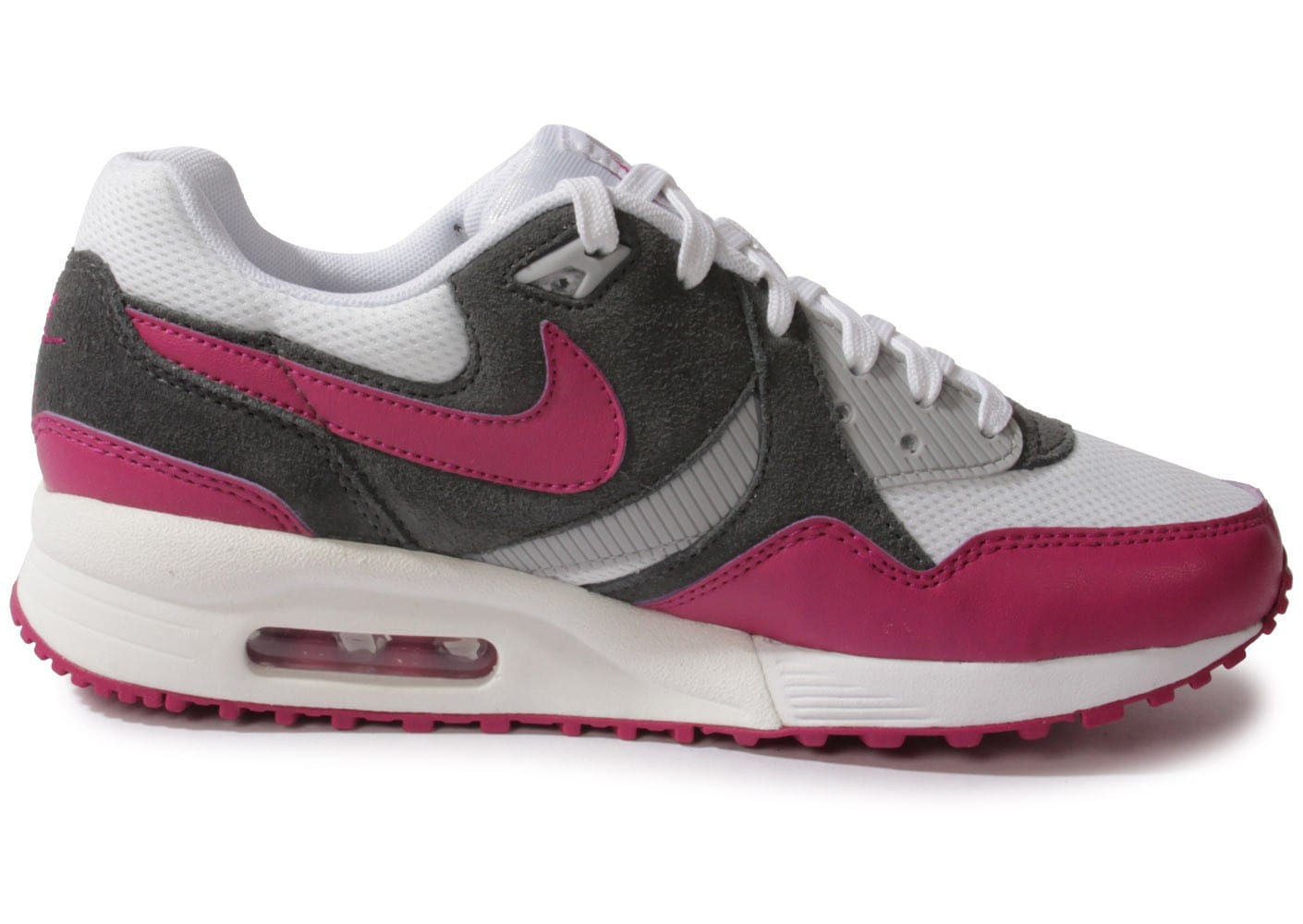 nike air max light blanche chaussures chaussures chausport. Black Bedroom Furniture Sets. Home Design Ideas
