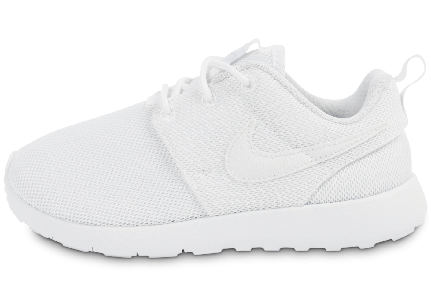 promo code 6d348 6488d ... chaussures nike roshe one enfant blanche vue exterieure